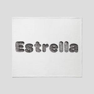 Estrella Wolf Throw Blanket