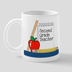 Second Grade Teacher (Notebook) Mug