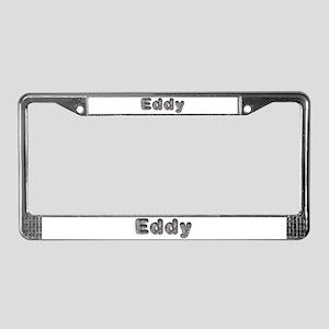 Eddy Wolf License Plate Frame