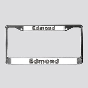 Edmond Wolf License Plate Frame
