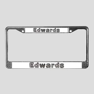 Edwards Wolf License Plate Frame