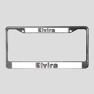 Elvira Wolf License Plate Frame