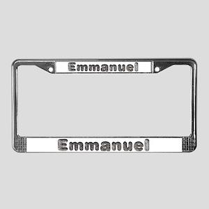 Emmanuel Wolf License Plate Frame
