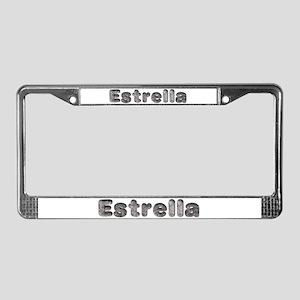 Estrella Wolf License Plate Frame