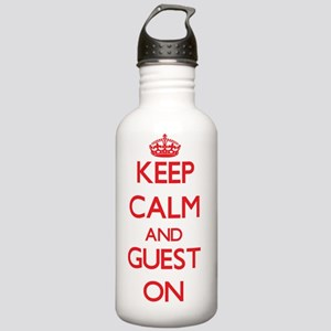 Keep Calm and Guest ON Stainless Water Bottle 1.0L