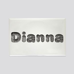 Dianna Wolf Rectangle Magnet