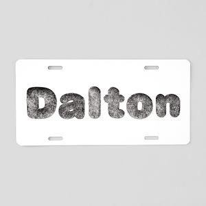 Dalton Wolf Aluminum License Plate