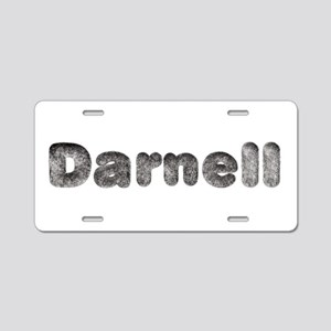 Darnell Wolf Aluminum License Plate