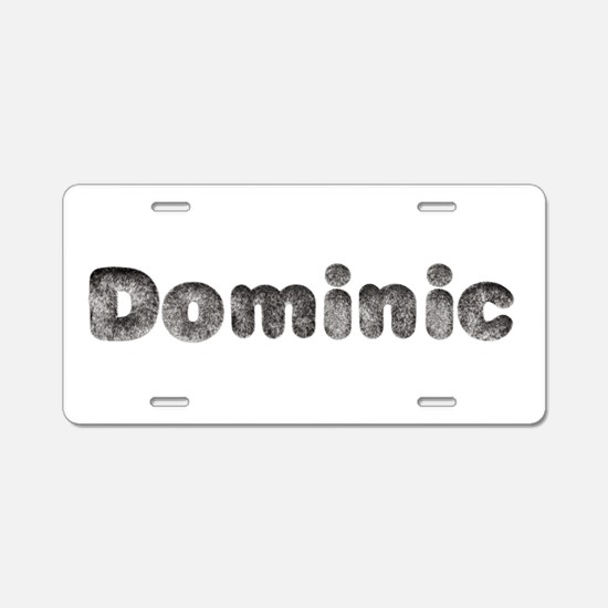 Dominic Wolf Aluminum License Plate