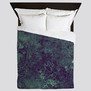 Green Sea Strange Queen Duvet