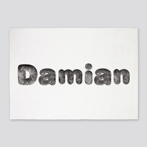 Damian Wolf 5'x7' Area Rug