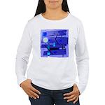 Egypt Blue Women's Long Sleeve T-Shirt