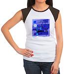 Egypt Blue Women's Cap Sleeve T-Shirt