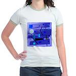 Egypt Blue Jr. Ringer T-Shirt
