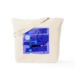 Egypt Blue Tote Bag