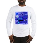 Egypt Blue Long Sleeve T-Shirt