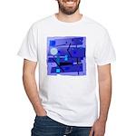 Egypt Blue White T-Shirt
