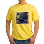 Egypt Blue Yellow T-Shirt