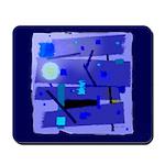 Egypt Blue Mousepad