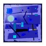 Egypt Blue Tile Coaster