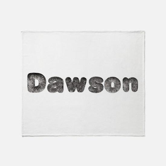Dawson Wolf Throw Blanket