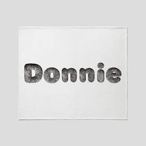 Donnie Wolf Throw Blanket