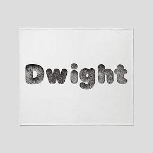 Dwight Wolf Throw Blanket