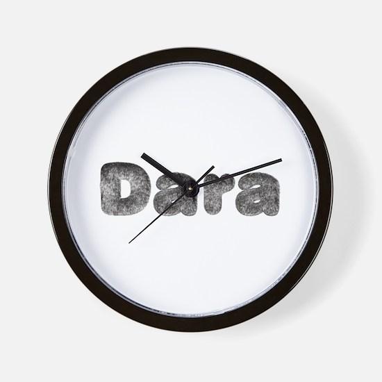 Dara Wolf Wall Clock