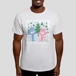Snow Scene Light T-Shirt