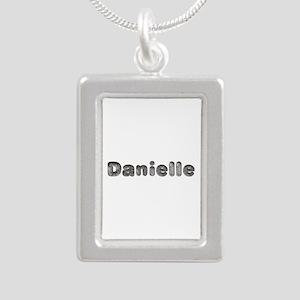 Danielle Wolf Silver Portrait Necklace