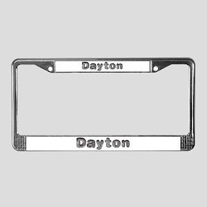 Dayton Wolf License Plate Frame