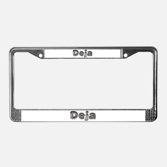 Deja Wolf License Plate Frame