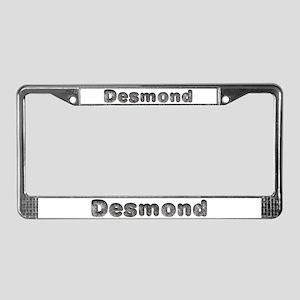 Desmond Wolf License Plate Frame