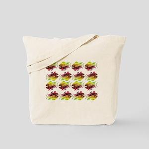 tuna pattern 3 Tote Bag