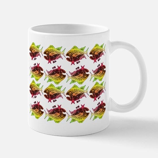 tuna pattern 3 Mug