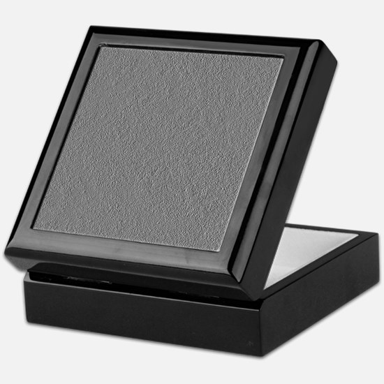 Greyscale Silvertone Concrete Keepsake Box