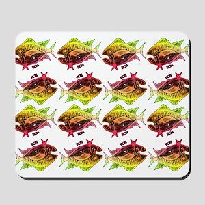tuna pattern 3 Mousepad