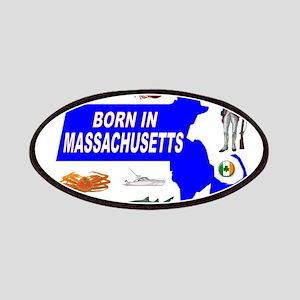 MASSACHUSETTS BORN Patch