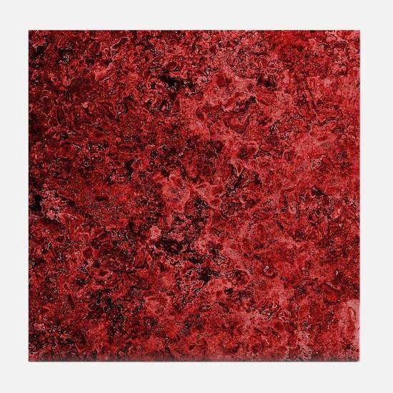 Lava Bloodstone Tile Coaster