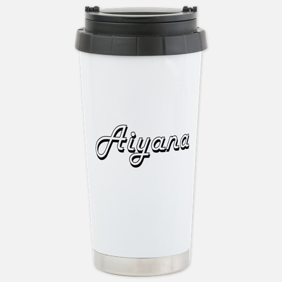 Aiyana Classic Retro Na Stainless Steel Travel Mug