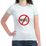 Anti-MOC Jr. Ringer T-Shirt