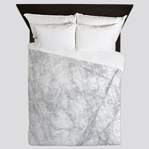 Icy Marble On Europa Queen Duvet