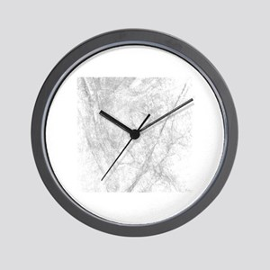 Icy Marble On Europa Wall Clock