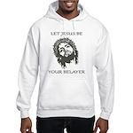 Let Jesus Be Your Belayer Hooded Sweatshirt
