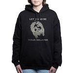 Let Jesus Be Your Belaye Women's Hooded Sweatshirt