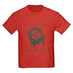 Let Jesus Be Your Belayer Kids Dark T-Shirt