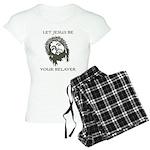 Let Jesus Be Your Belayer Women's Light Pajamas