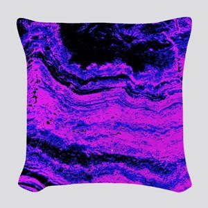 Neptune Storm Chorus Woven Throw Pillow