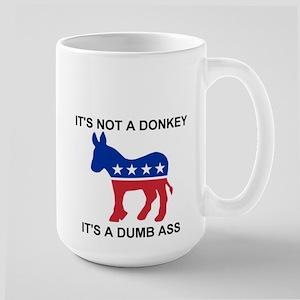 Large Mug, DEMOCRATIC DONKEY