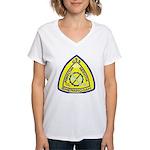 USS Shenandoah (AD 26) Women's V-Neck T-Shirt